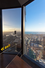 from the Eureka Tower . Melbourne (:: Blende 22 ::) Tags: city clouds canon downtown cloudy australia melbourne victoria fromabove australien eurekatower ef1740mmf4lusm canoneosd canoneos5dmarkii