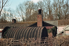 _20_0057 (rowen39) Tags: old brick buildings iron minolta roofs 700si portra chimneys 160