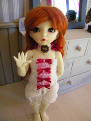 pyjama littlefee (LesPetitesFrisouilles) Tags: doll sewing bjd ante romantique ldoll littlefee