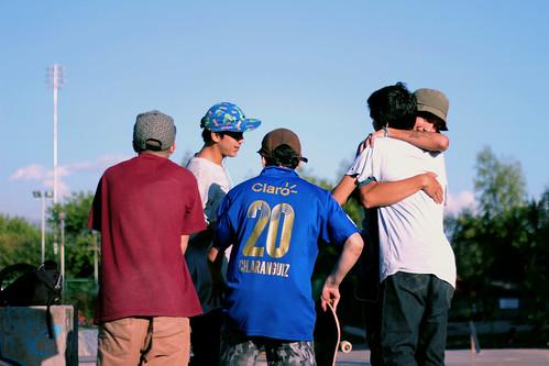 El skate es amistad