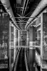 Kekkosentie bridge | Tampere | Finland (Vitalijs Rusanovs) Tags: bridge bw finland tampere hdr canon400d vitalijsrusanovs nsinsilta