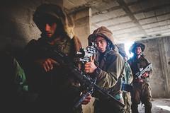 Seventh Reconnaissance Company Drill near Qalqilya (Israel Defense Forces) Tags: infantry israel soldiers idf armoredcorps israeldefenseforces judeaandsamaria 7tharmoredbrigade
