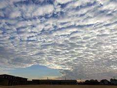 mackerel sky. いわし雲,鰯雲 (T.Kiya) Tags: sky cloud 雲 空