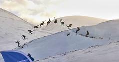 Dividing Line Invitational (hamish.frost) Tags: winter snow ski mountains scotland skiing powder backcountry freeride kicker cairngorms drumochter freeski