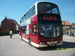 746 YX08FXH Beverley on X46 (dearingbuspix) Tags: eastyorkshire 746 x46 eyms yx08fxh