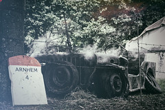 Burnt Out Jeep (Kyle Blunt) Tags: history army war jeep military arnhem wwii ww2 conflict 1944