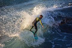 Josh Sammons (Juliana Beletsis) Tags: water waves sandiego lajolla southerncalifornia thewall shorebreak wipeoutbeach