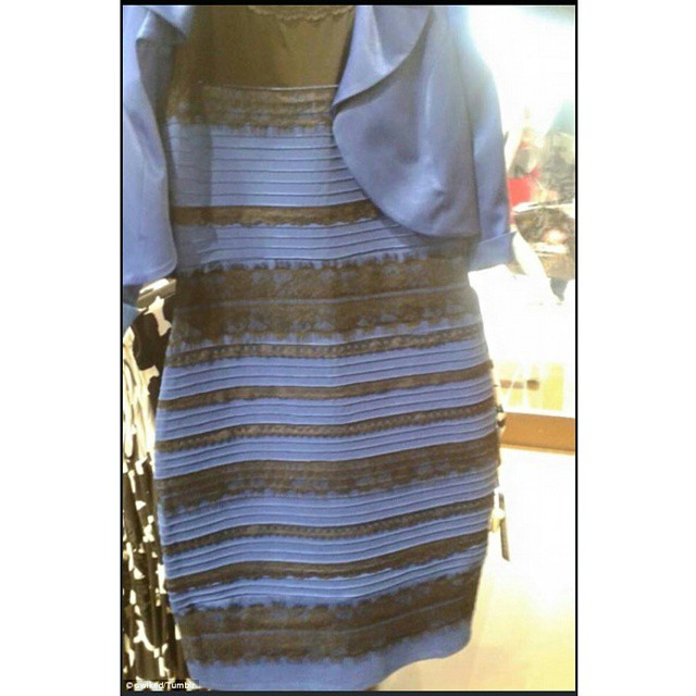 I see a white and gold dress. How about you?