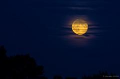 Fly me to the moon (Alexandre DAGAN) Tags: moon lune pentax full moonrise paysage tamron nuit 70300 pleine pentaxk5