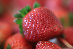 Red and juicy (C. VanHook (vanhookc)) Tags: strawberry strawberries 365 2015 project365 2015pod