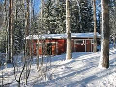 Puumerkki Cottage storage