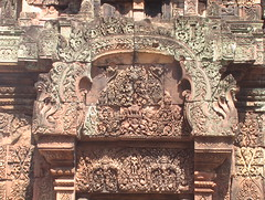 Carved Details of Banteay Srei