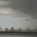 Cidade do Panamá com chuva