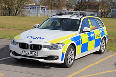 South Yorkshire Police BMW 330d Touring Roads Policing Unit Traffic Car (PFB-999) Tags: car estate traffic south yorkshire police bmw vehicle leds roads hull touring grilles unit rpu lightbar policing syp 330d xdrive fendoffs yr63otz