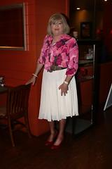 new107701-IMG_7331t (Misscherieamor) Tags: restaurant tv feminine cd tgirl transgender mature sissy tranny transvestite crossdress ts gurl tg travestis travesti travestie m2f xdresser tgurl bowblouse