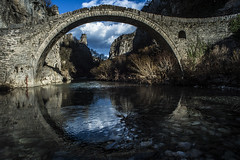 Kokkori΄s Old Stone Bridge (partis90) Tags: color lens landscape photography nikon df 20mm 35 farbe nikkorud