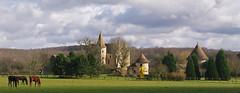 MANOIR DES CARNEAUX  à BULLION (Yvelines) - 2/3/15. (jmsatto) Tags: travel adventure manoir chevaux bullion yvelines carneaux