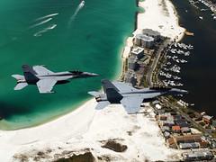 VX-9 Vampires Super Hornets (skyhawkpc) Tags: inflight unitedstates aircraft aviation navy naval 2008 fla usnavy usn acmi eglinairforcebase mcdonnelldouglas superhornet fa18f eglinafb fa18e dvic 166797 vx9vampires xe261 unkbuno officialusnavy xe170
