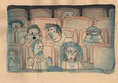 el cine guayaco (casimira parabolica) Tags: art illustration arte drawing character cine dibujo movietheater ilustracion personaje casimria