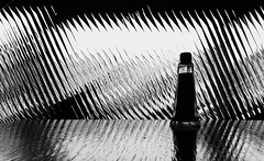 ... thinking abstract #1 ... (jane64pics) Tags: light bw abstract window glass table shadows stripes salt cellar shadowsandlight saltcellar janefriel2015