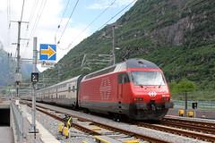 Gottardo-Shuttle in Pollegio (ice91prinzeugen) Tags: ic 2000 sbb erffnung re ffs 460 2016 cff gottardo dosto pollegio pendelzug basistunnel publikumsanlass gotth