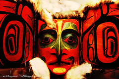 Tribal Face (Sreejith S.) Tags: red face painted tribal coventry tribe sreejith sreejithes
