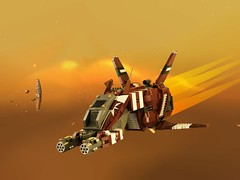Homeworld: Taiidan Scout (zwitl) Tags: lego homeworld taiidan scout zwitl spaceship