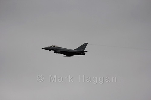 The Typhoon Airshow at the 2016 British Grand Prix