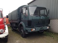 1977-88 Mercedes-Benz 1017 military vehicle (Trabantje601) Tags: mercedes benz 1017