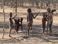 Welcoming kids (s_andreja) Tags: africa namibia kamanjab himba village kids
