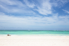 Relax (Mauricio Narea) Tags: sea sky beach water clouds wonderful relax landscapes sand holidays paradise peace seascapes vacations puntacana caribe caribean