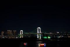 Odaiba RainbowBridge (pocky7247) Tags: bridge japan night tokyo odaiba nightview rainbowbridge rx100 rx100m3