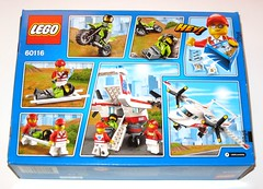 60118 1 lego city ambulance plane set 2016 misb b (tjparkside) Tags: city 3 male set modern female plane 1 three day pieces pcs lego fig aircraft helmet mini ambulance medical motorbike figure motorcycle passenger paramedics paramedic propeller rider figures figs stretcher minifigure 183 2016 minifigures misb 60116 60118