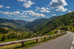 Hairpin View (Fred Friggens) Tags: hairpin france mountains sky gorge trees
