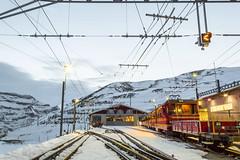 Swiss Alps (betinho_had) Tags: world trip travel red snow cold beautiful train landscape switzerland europe suisse swiss railway traveller suíça viagem eurotrip interlaken aventura worldtrip worldtravel kleinescheidegg beautifulplaces swissmade