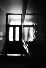 Close (nils_aksnes) Tags: blackandwhite bw glasgow pinhole ilford tenement wppd worldwidepinholephotographyday ondu ondu135