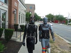 Pony Stroll (AgentDrow) Tags: bdsm prideparade zentai ponyplay rochesterpride