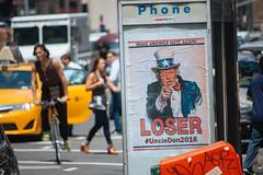 Trumped (mathiaswasik) Tags: street new york nyc usa newyork us unitedstates politics 5thavenue donald trump