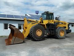 Komatsu WA 500 (Vehicle Tim) Tags: machinery bau komatsu fahrzeug lader radlader baumaschine