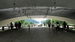 Point State Park Pedestrian Underpass. (dckellyphoto) Tags: people underpass pointstatepark downtown pittsburgh pedestrians pedestrian pittsburghpennsylvania pennsylvania pittsburghpa alleghenycounty fountain park river rivers trees sunny summer