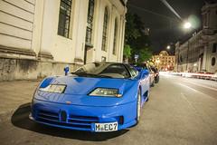 EB110 SS Dauer (muccrisp) Tags: blue classic cars car ss porsche bugatti supersport 918 carspotting weissach eb110