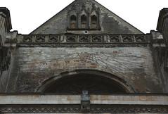 Saint Omer, Nord-Pas-de-Calais, Cathdrale Notre-Dame, south transept, entry, sun dial (groenling) Tags: saintomer pasdecalais nordpasdecalais france fr cathdrale notredame transept south sud entry entre portal portail stone carving stonecarving pierre sundial horloge cadransolaire