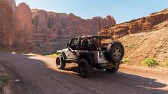 Morning Run (spencer.matches) Tags: jeep wrangler 4x4 moab utah off roading four wheeling adventure nature red rocks morning runs