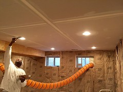 Basement Remodel (devinaodom) Tags: drywall painting carpet construction doors flooring trim electrical lowes interiordesign carpentry remodeling homeimprovements thehomedepot audiovisual