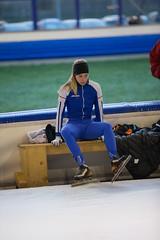 A37W6953 (rieshug 1) Tags: speedskating schaatsen eisschnelllauf skating nkjunioren knsb nkjuniorenallroundafstanden afstanden allround 50010001500massstart demeent alkmaar sportcomplexdemeent juniorenc ladies dames 500m