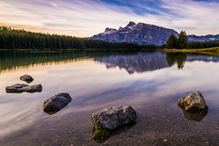 Early Morning Calm in Banff National Park (Mark Willard Photography) Tags: banff national park alberta canada parcs parc travel vacation landscape nikon d810 holiday early morning calm long exposure nature natural reflection canadian camping mountain mountains lake