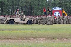 160802-A-DP764-002 (2nd Brigade Combat Team) Tags: paratroopers 2ndbrigadecombatteam 82ndairbornedivision changeofcommandceremony pikefield fortbragg nc 82ndabndiv majgenrichardclarke majgenerikkurilla americasguardofhonor northcarolina unitedstates us