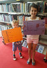 Acrostic Poems at Doncaster Library (Doncaster Libraries) Tags: poetry poems acrostic doncaster central library books reading summer