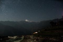 IMG_7469 (aaron.beitzel) Tags: nepal gorkha trek trekking snowcap mountain stars night canon terraces village sky