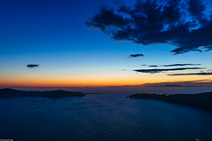 Lit up () Tags: sonynex5r sigma19mmf28 santorini greece oia imerovigli caldera